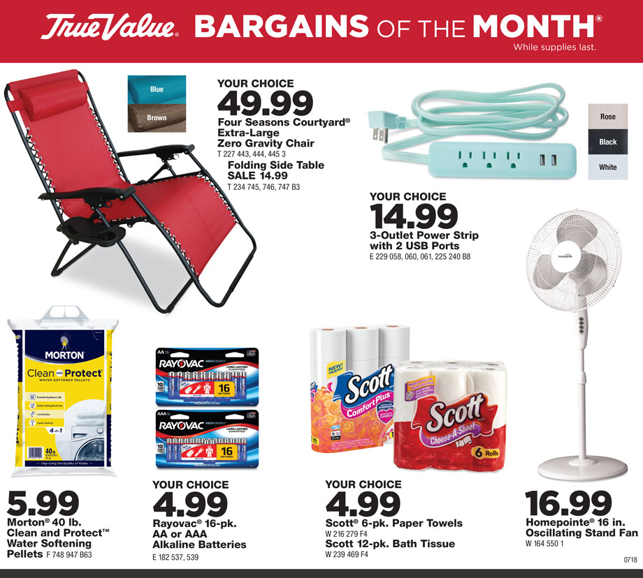 Bargains of the Month